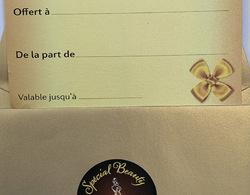 Chèque cadeau - Special Beauty